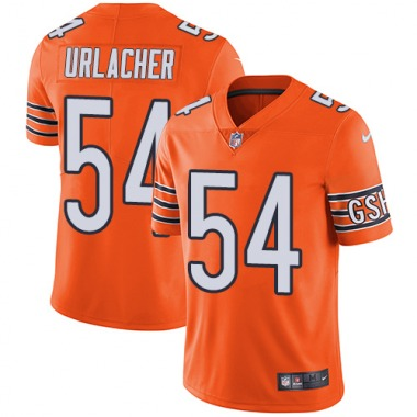 Men's Nike Chicago Bears Brian Urlacher Color Rush Jersey - Orange Limited