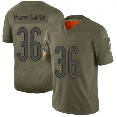 Men's Nike Chicago Bears DeAndre Houston-Carson 2019 Salute to Service Jersey - Camo Limited