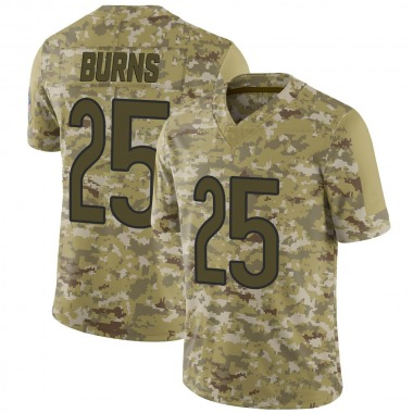 Youth Nike Chicago Bears Artie Burns 2018 Salute to Service Jersey - Camo Limited