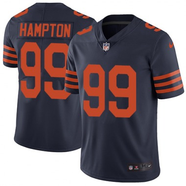 Youth Nike Chicago Bears Dan Hampton 1940s Throwback Alternate Jersey - Navy Blue Limited