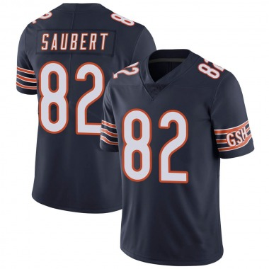 Youth Nike Chicago Bears Eric Saubert Team Color Vapor Untouchable Jersey - Navy Limited