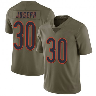 Youth Nike Chicago Bears Michael Joseph 2017 Salute to Service Jersey - Green Limited